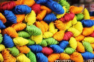 Farben Schafswolle